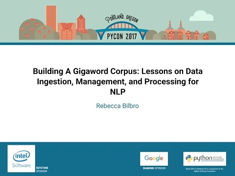 Image from Building A Gigaword Corpus: Lessons on Data Ingestion, Management, and Processing for NLP