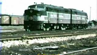 Railroad Scenes, Steam & Early Diesel, NYC & NKP