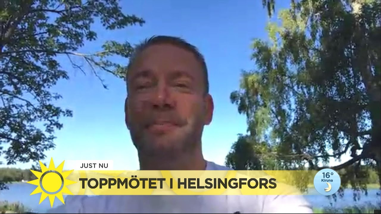 """Snart möts Trump och Putin i Helsingfors: """"Finland har en tradition att fungera - Nyhetsmorgon (TV4)"""