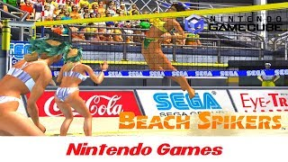 Beach Spikers: Virtua Beach Volleyball (Brazil Gameplay) Nintendo GameCube