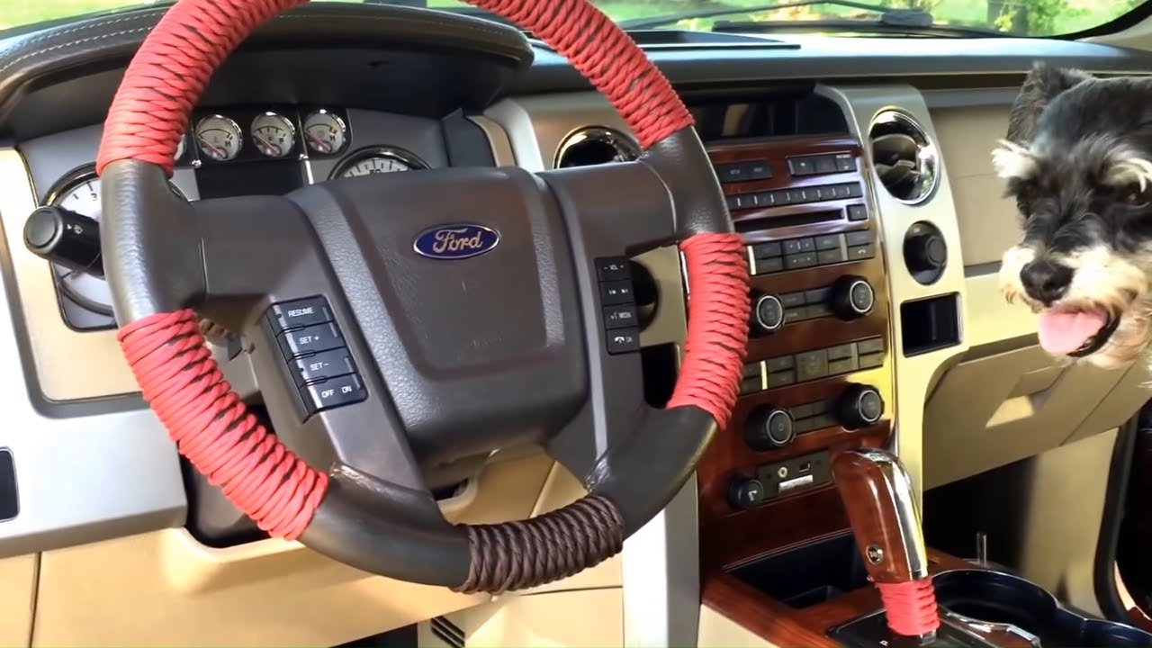 Paracord wrapped steering wheel youtube for Paracord steering wheel wrap