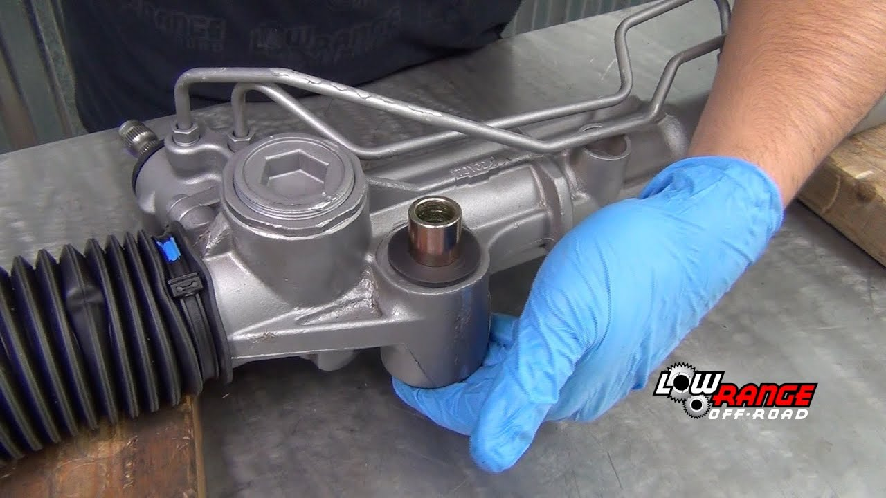 How To Install Energy Suspension S Rack Amp Pinion Bushings
