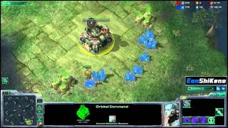 The MULE steals your minerals! Starcraft 2 EonShiKeno
