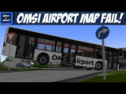 OMSI 2 - Omsi Airport - Airport Shuttle - Major Map Fail!!! |
