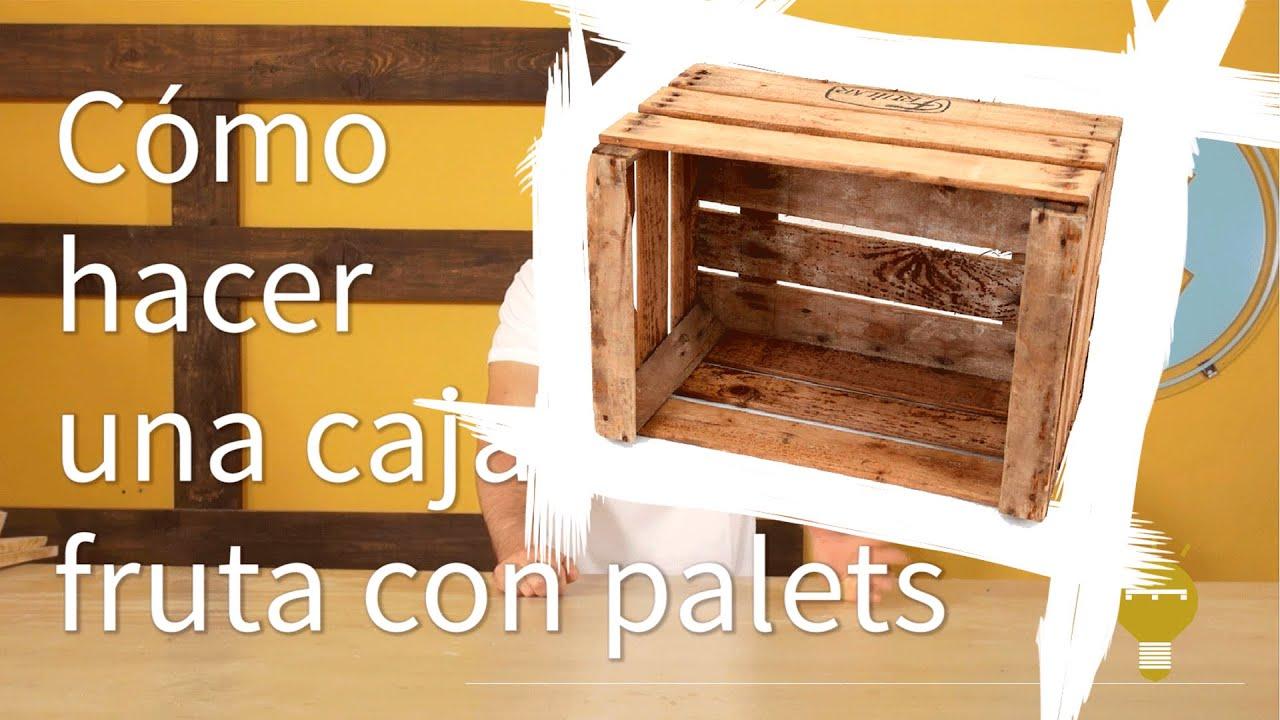C mo hacer cajas de fruta con palets 7 re crea palets - Tablas para hacer palets ...