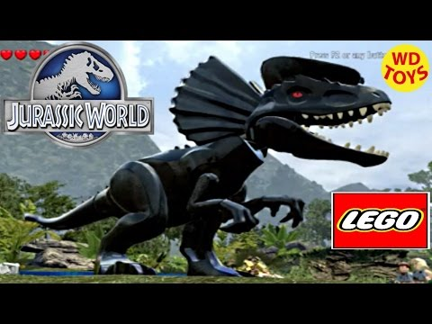 Jurassic World Lego Game Darth Vader Hybrid Indominus Rex Custom Dino Creator Episode 4 By WD Toys
