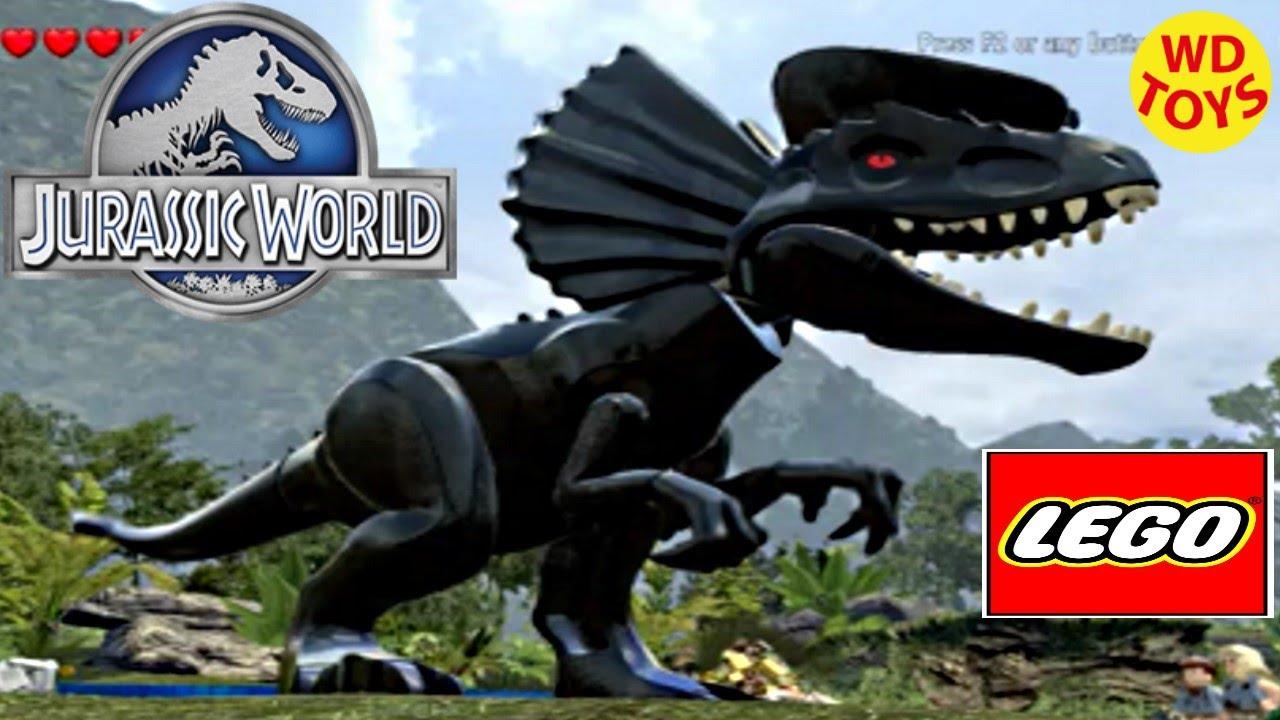 Jurassic World Lego Game Darth Vader Hybrid Indominus Rex