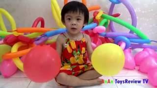 Trò chơi thổi bóng bay - Trò chơi bơm bóng bay ❤ Anan ToysReview TV ❤