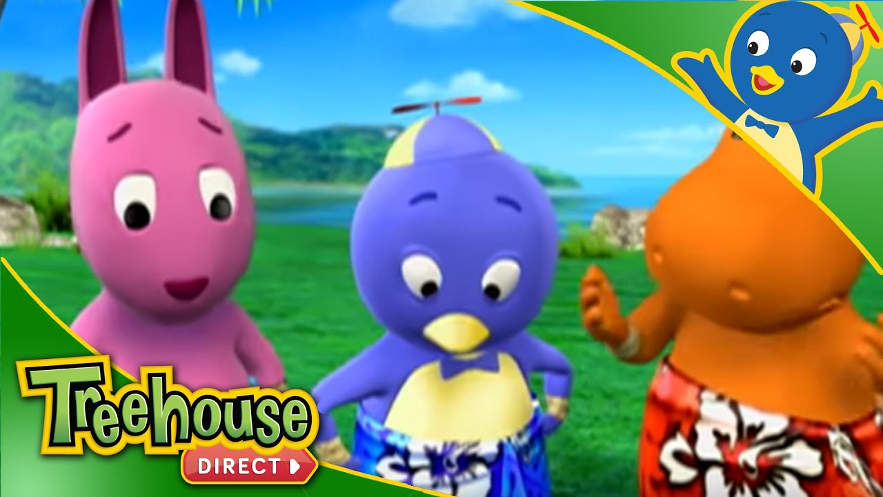 The Backyardigans The Legend of the Volcano Sisters Ep