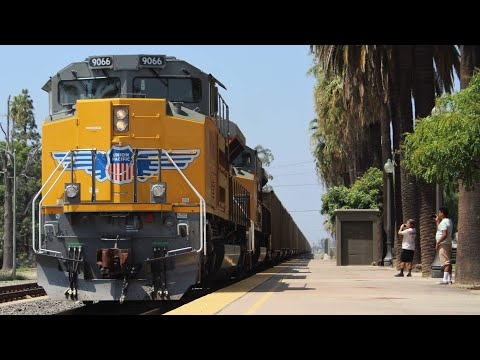 Railfanning Southern California! Featuring UP 1983 and many more!