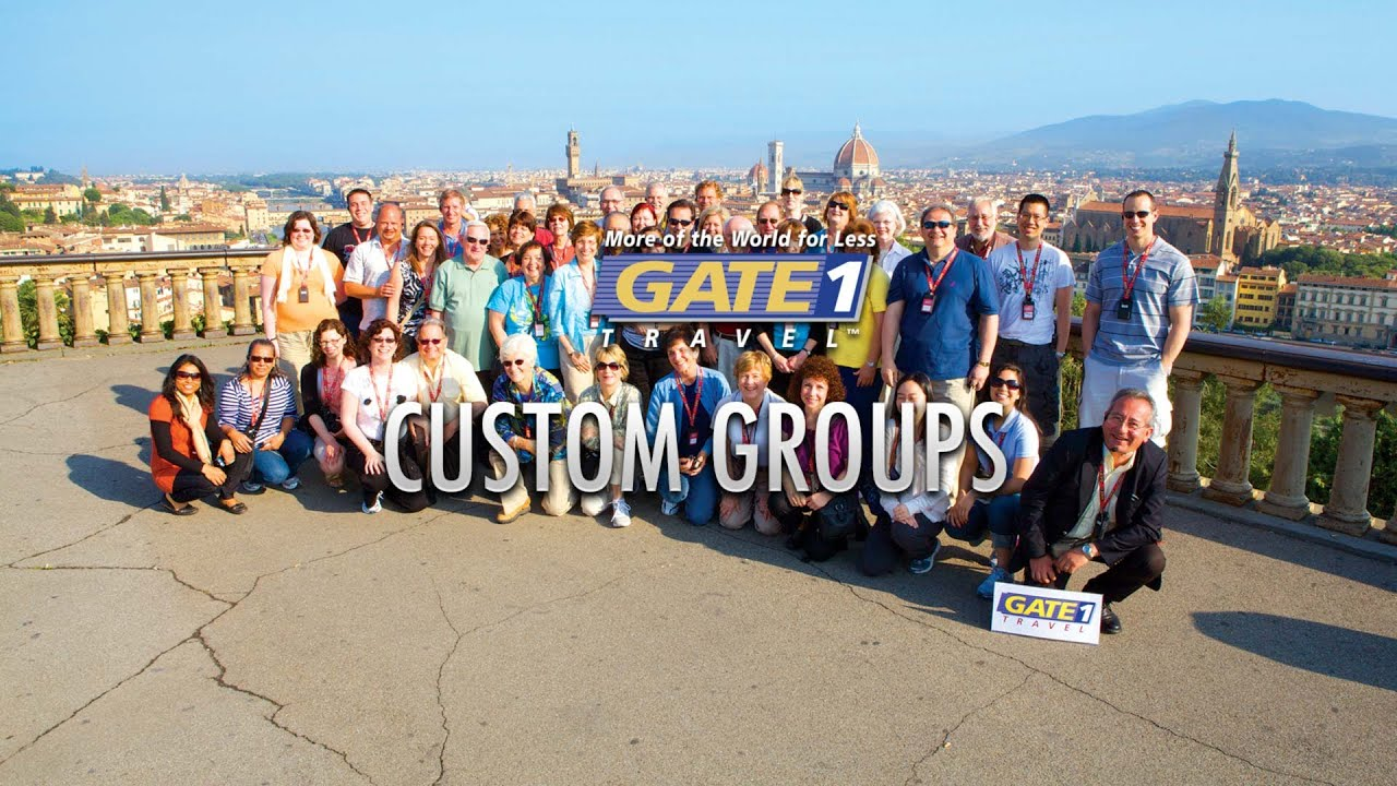 Gate 1 Group Travel - YouTube