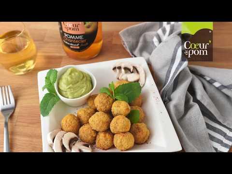 boulettes-vegan-de-patate-douce-au-quinoa,-sauce-avocat---coeur-de-pom---tuto-recette-salée