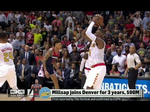 Talk About Paul Millsap, Carmelo Anthony Trade & Manny Pacquiao vs Jeff Horn (FULL)