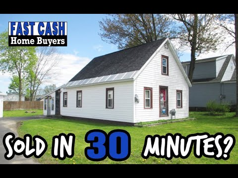 Sold in 30 Minutes! - Fast Cash Home Buyers
