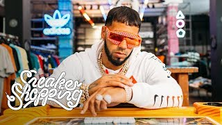 Anuel AA Goes Sneaker Shopping With Complex