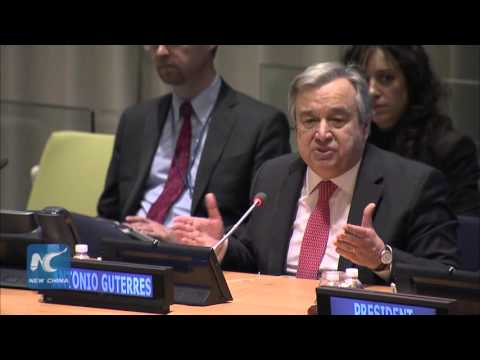 Antonio Guterres Highlights Conflict Prevention, Gender Equality, Human Rights in UN Chief Audition