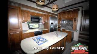 2015 Heartland Big Country 3650rl Fifth Wheel Rear Living Room In Claremore Ok Youtube