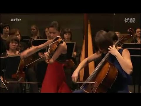 Sayaka Shoji and Tatjana Vassiljeva play Brahms : Double Concerto in A minor, Op.102