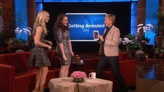 Kat Dennings and Beth Behrs Play 'Heads Up!'