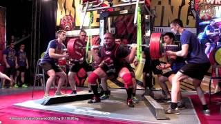 Приседания в бинтах (Lilliebridge Sling Shot) - 350 кг