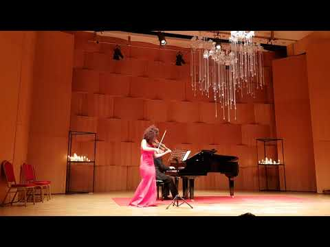 J.Brahms hungarian dance nr 1 for violin and piano