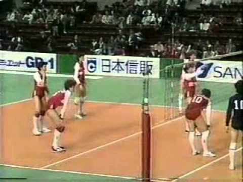 1987 Japan Cup Volleyball China vs USSR