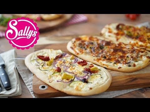 FLIZZA – Flammkuchen & Pizza-Mix / Mittelalter Rezept