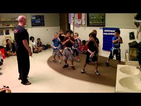 Master McGowan at Montessori Educare Academy 2013-05-16