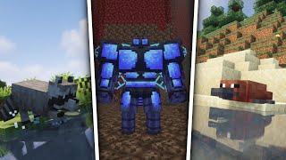[Minecraft] 수십마리의 다양한 몹들을 추가해주는 모드! Alex's Mobs 모드 소개 - 모드 공략