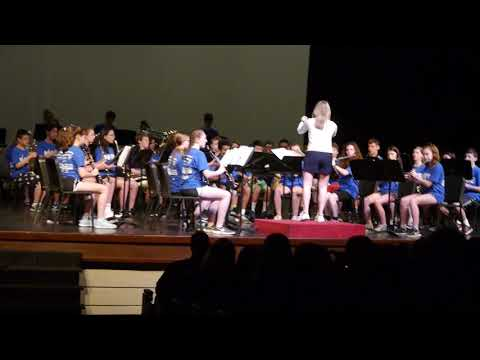 North Bethesda Middle School Advanced Band - Music In The Parks 2019