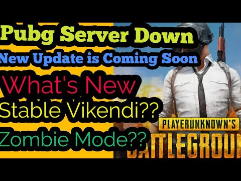 Pubg Server Down Maintenance Notice,new update is on the way