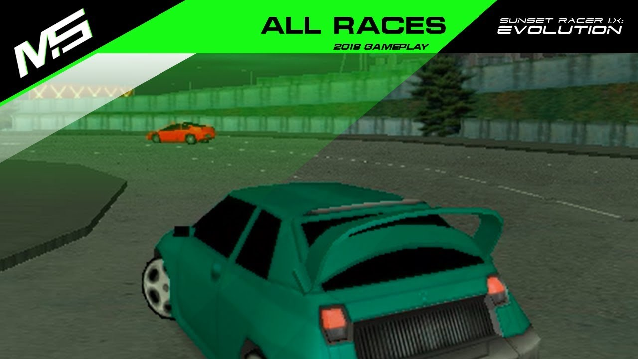 Sunset racer evolution game privateer 2 computer game