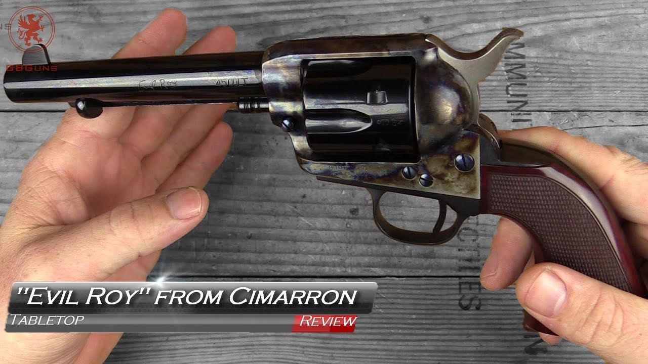 Evil Roy 1873 Colt from Cimarron Tabletop Review