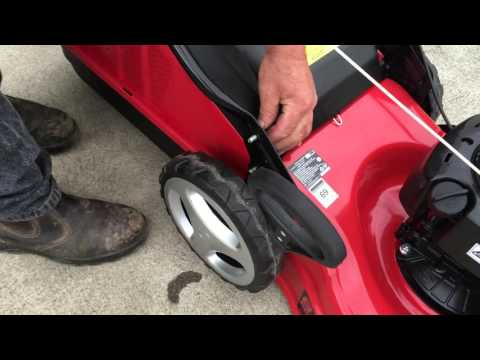 52371  - 140cc Petrol Lawn Mower Overview