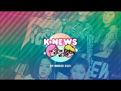 Itzy, Park Bom, Soojin y más en las KNews | 24 de marzo