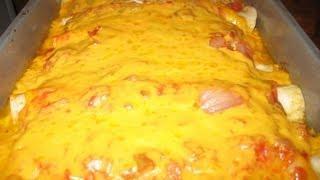 Marjorie's    Chicken Enchiladas