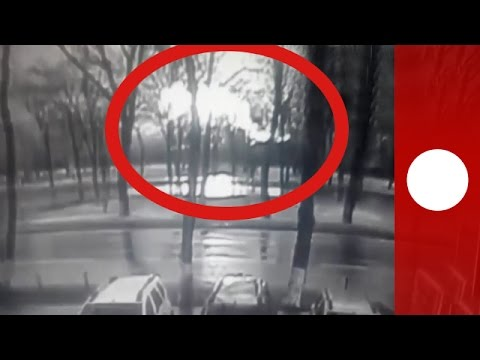Moment of FlyDubai Rostov-on-Don crash caught on CCTV