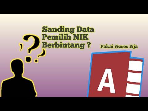 sanding-data-pemilih-yang-berbintang-dengan-acces-|-tutorial-acces