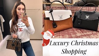 Christmas Shopping In Harrods | Insane Luxury Sale!!