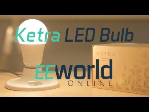 Teardown: Inside Ketra's $100 A20 LED light bulb