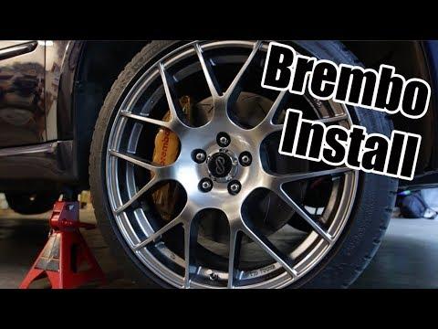 STI Brembo Install - 2005 Legacy GT