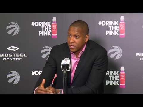 Masai Ujiri's End of Season Media Conference: Part 1 - May 9, 2017