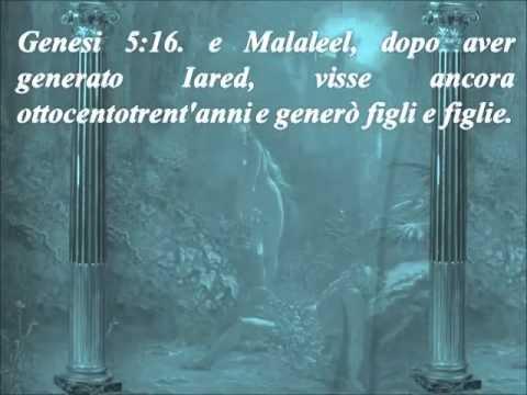 LA SACRA BIBBIA  - GENESI CAP.  5