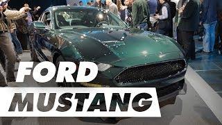 Ford Mustang Bullitt presta uma bela homenagem