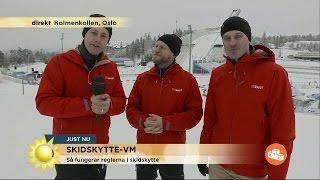 Värsta tabbarna i skidskyttespåret - Nyhetsmorgon (TV4)
