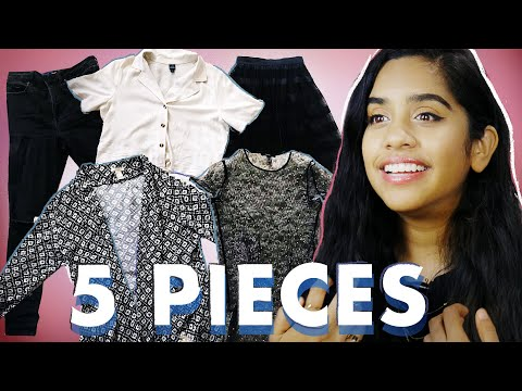 I Wore Only 5 Pieces of Clothing for 5 Days