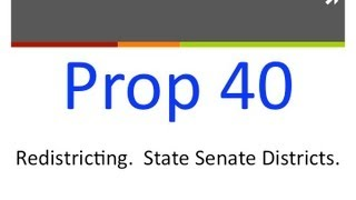Proposition 40: Approve Voting District Lines (California General Election 2012)