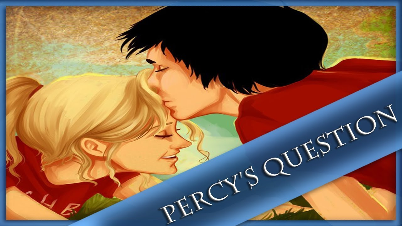Percy and annabeth fanfiction first kiss