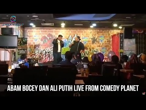 Shauki TV: Abam Bocey dan Ali Putih live from Comedy Planet (8Feb2017)