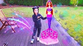 Большая Барби русалка или Мыльные пузыри